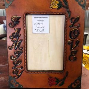 5×7 Leather Picture Frame