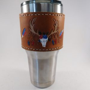30 oz Leather Cup Holder